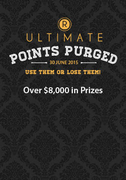 Points Purged Promo