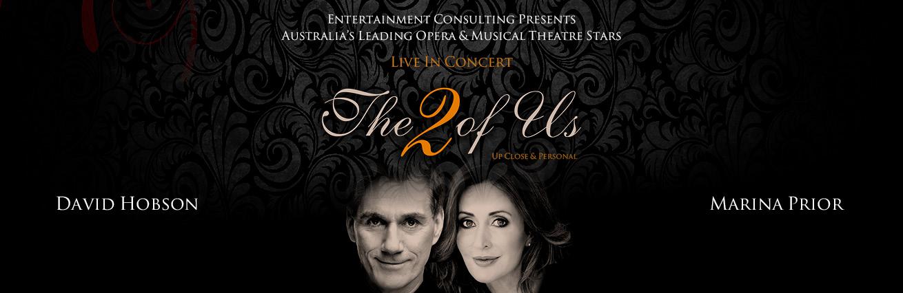 """David Hobson & Marina Prior """"The 2 of us"""""""