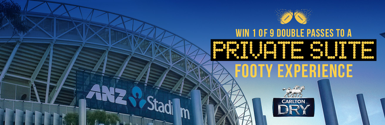Win Double Passes to a Private Suite Footy Experience