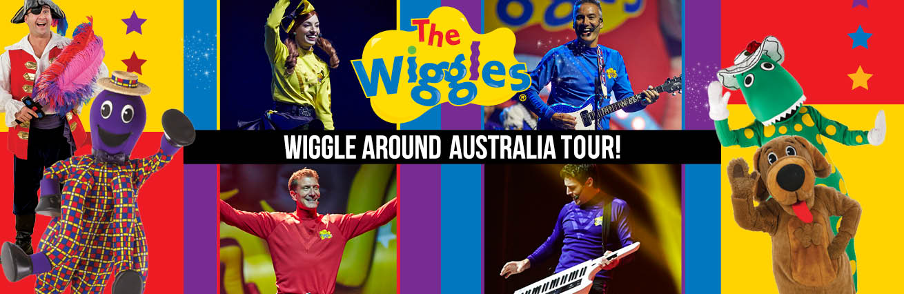Wiggle Around Australia Tour! THIS EVENT IS CURRENTLY SOLD OUT