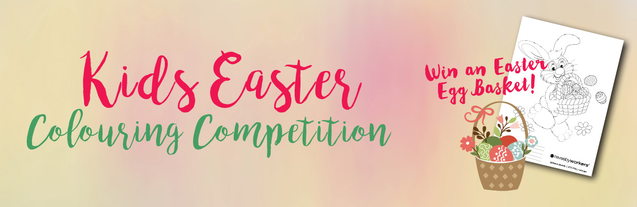Kids Easter Colouring Competition