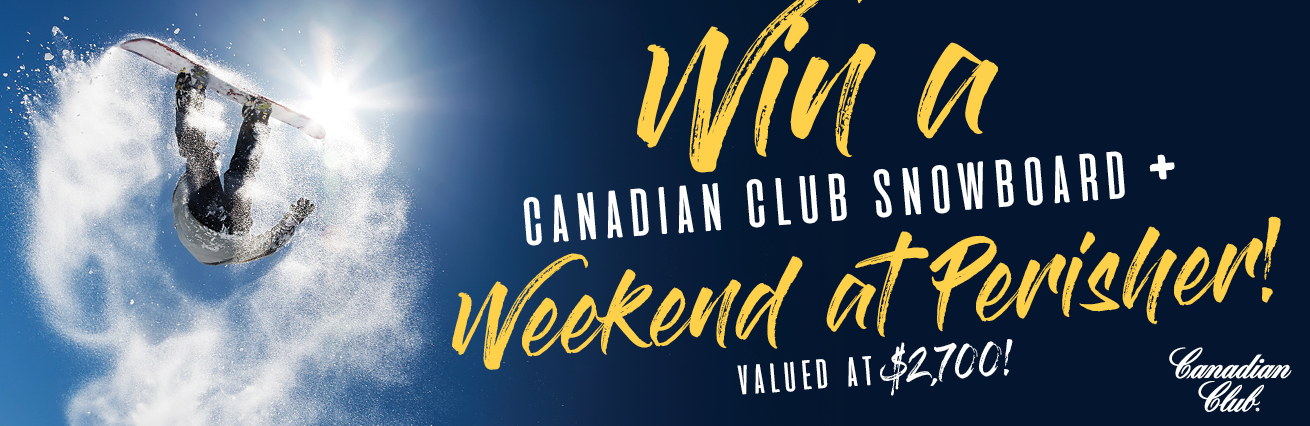 Win a canadian club snowboard plus a weekend at Perisher