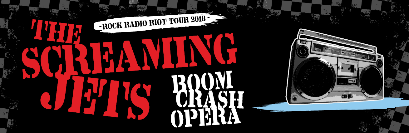The Screaming Jets & Boom Crash Opera - 'Rock Radio Riot'