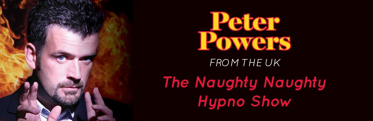 Peter Powers The Naughty Naughty Hypno Show 18+