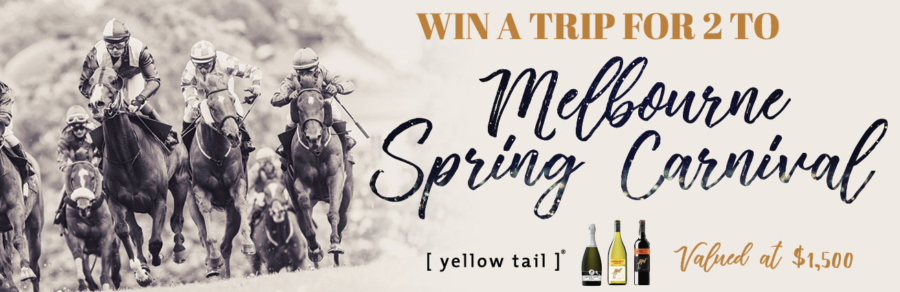 WIN A MELBOURNE SPRING CARNIVAL TRIP FOR TWO