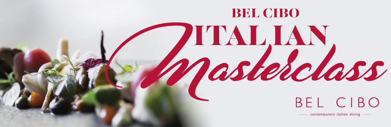 BEL CIBO ITALIAN MASTERCLASS