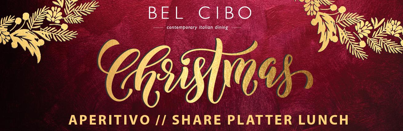 CHRISTMAS APERITIVO LUNCH AT BEL CIBO