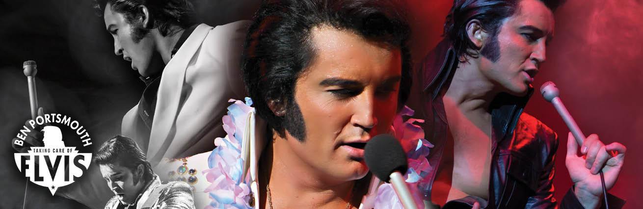 The King Is Back | Ben Portsmouth Elvis Tribute