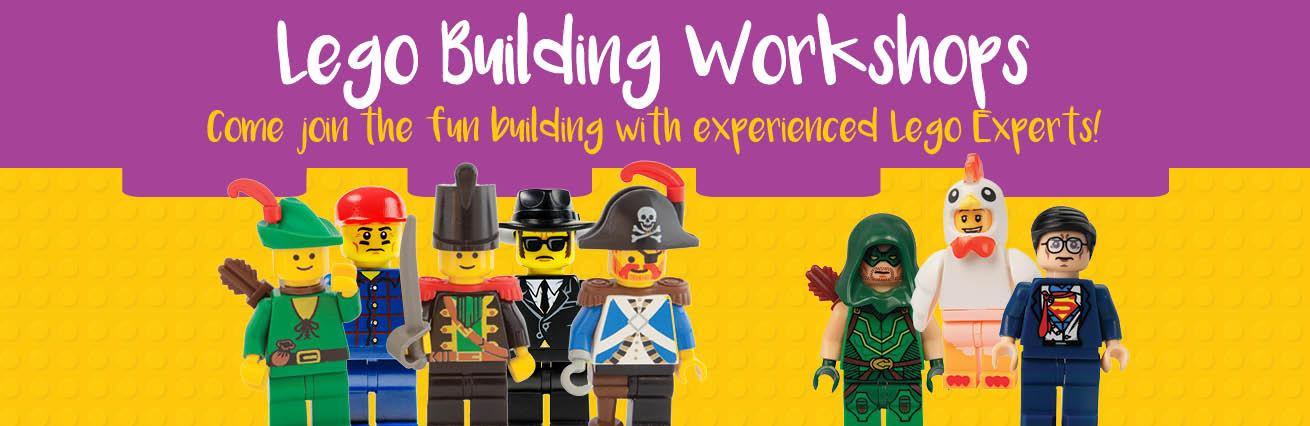 LEGO BUILDING WORKSHOPS