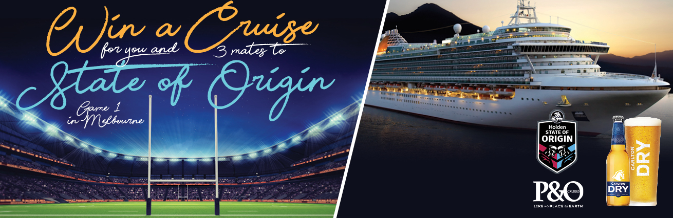 STATE OF ORIGIN CRUISE