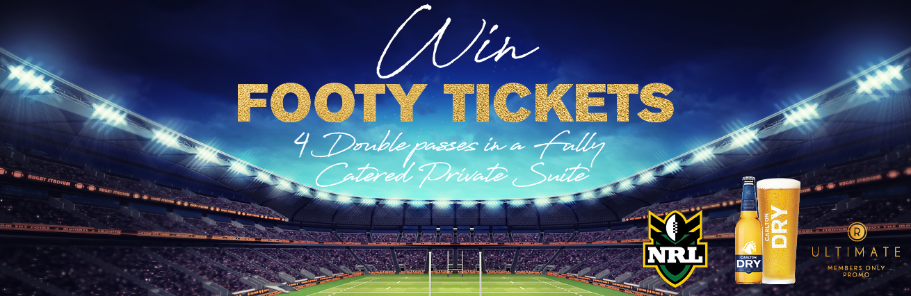 WIN FOOTY TICKETS