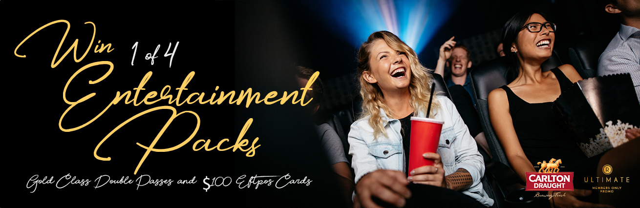 WIN 1 Of 4 Entertainment Packs